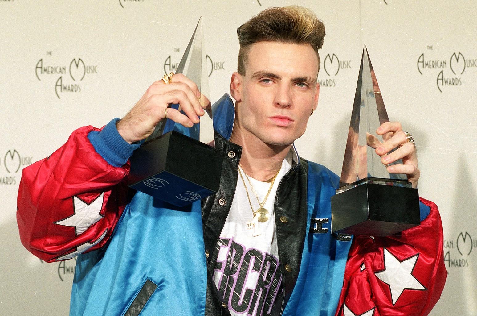 Vanilla Ice at the American Music Awards