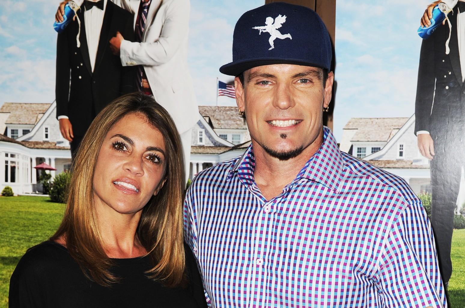 Vanilla Ice & his wife Laura Giaritta