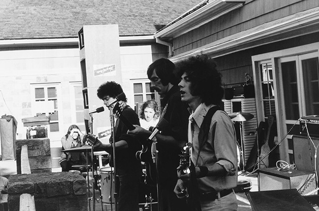 Velvet Underground performing in 1969