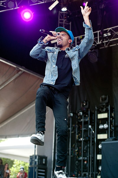 Austin City Limits 2014 -- Vic Mensa
