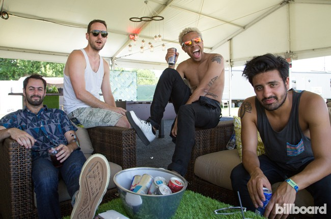 Vic Mensa and Young the Giant at Firefly 2014