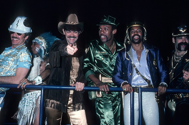 The Village People with Victor Willis, second from right.