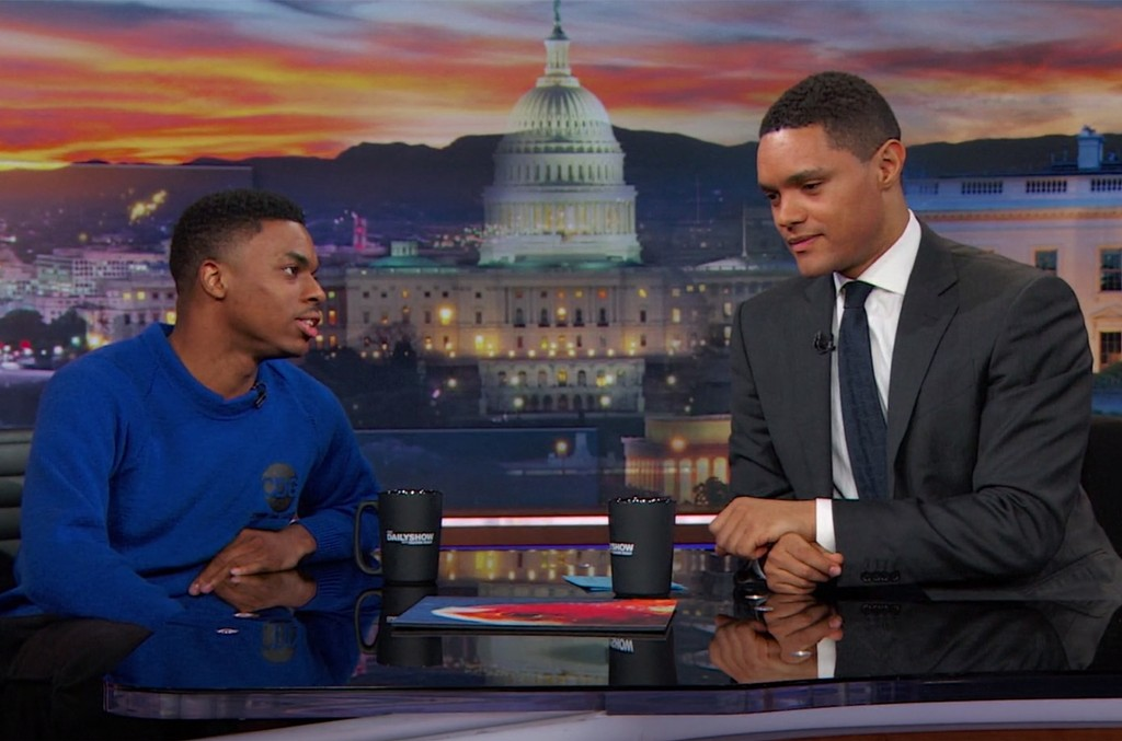 Vince Staples on The Daily Show with Trevor Noah