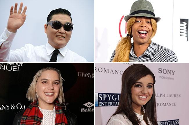 Psy, Antoine Dodson, Rebecca Black and Soko