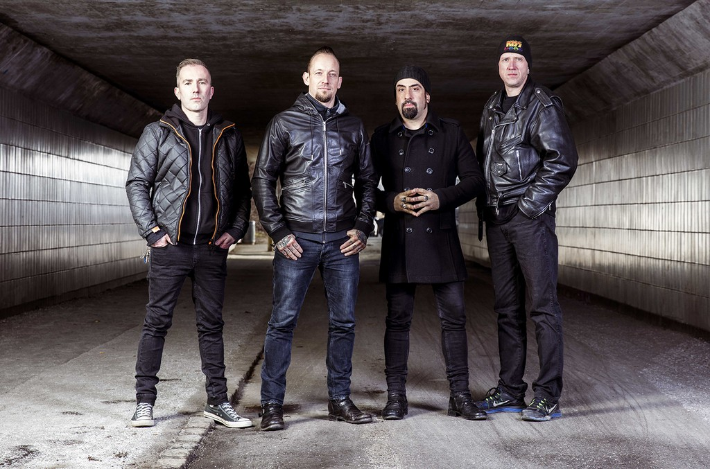 Volbeat photographed in 2016