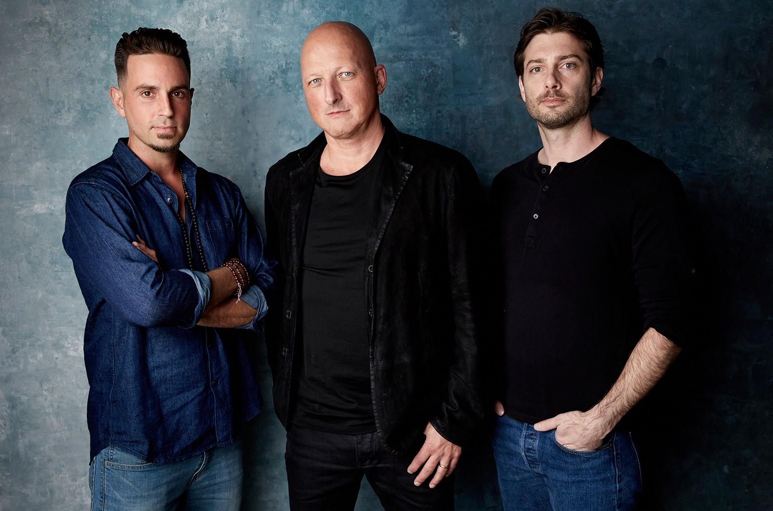 Wade Robson, Dan Reed and James Safechuck