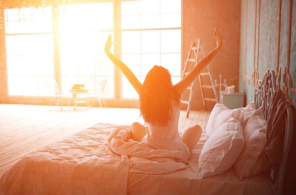 Картинка пробуждение после сна романтика