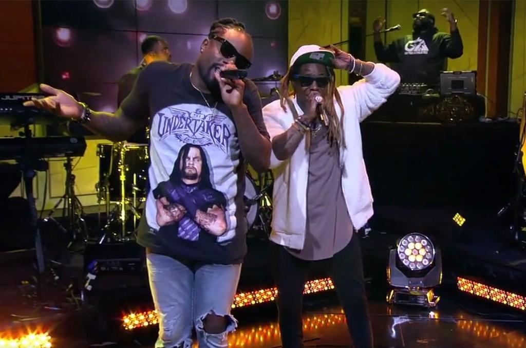 Wale and Lil Wayne
