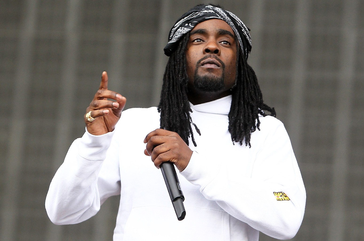Wale performs at West Potomac Park on Sept. 26, 2015 in Washington, DC.