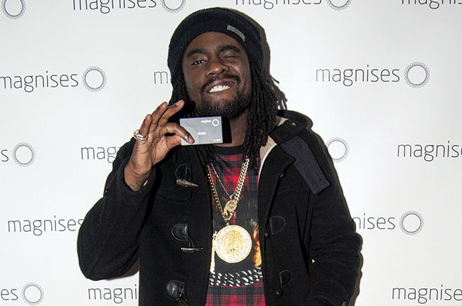 Wale at the Magnises Holiday Party