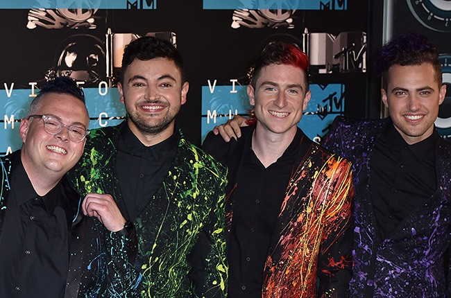 Sean Waugaman, Eli Maiman, Nicholas Petricca and Kevin Ray of Walk the Moon