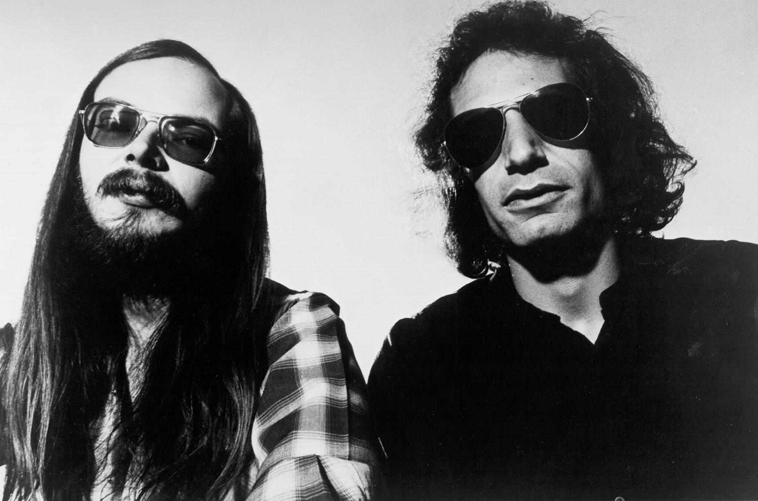 Walter Becker & Donald Fagen of Steely Dan, 1978