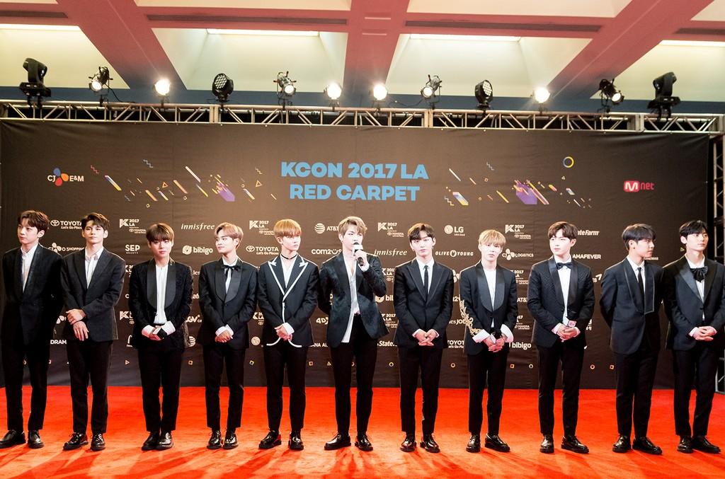 Wanna One, KCON 2017