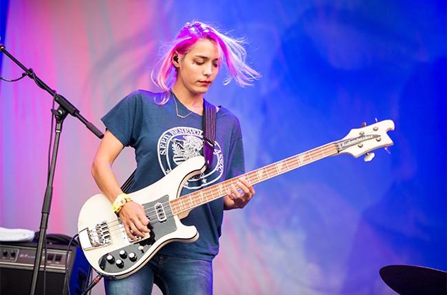 Warpaint at Lollapalooza 2014