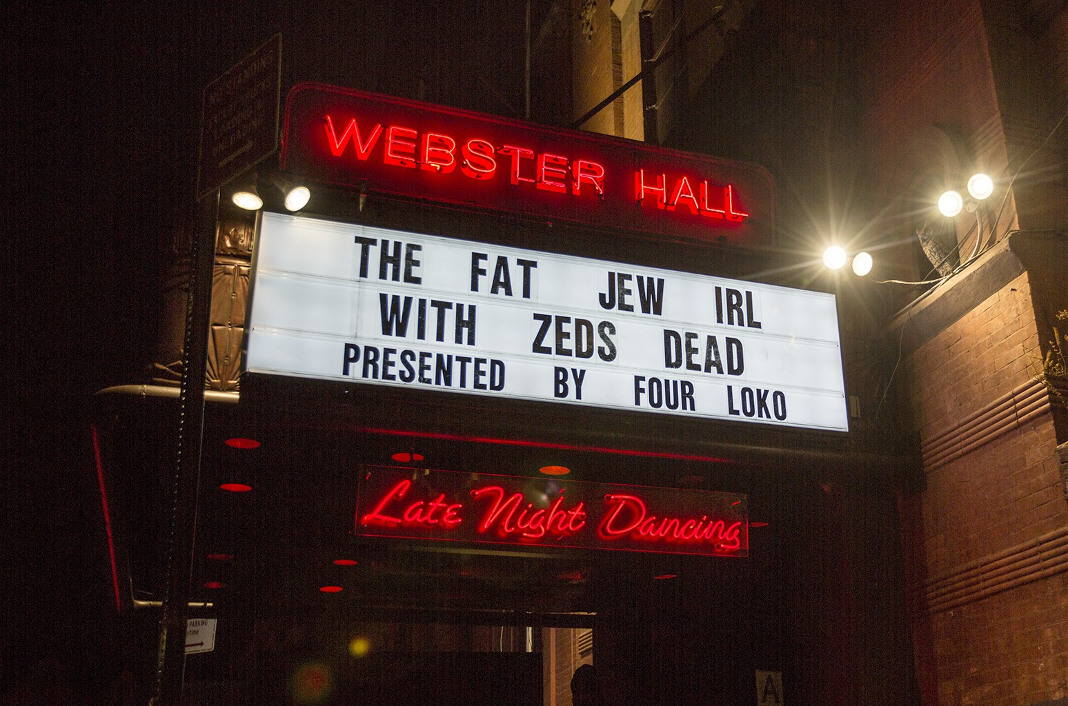 Webster Hall in New York City