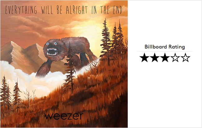 Weezer Everything Will Be Alright In The End Review