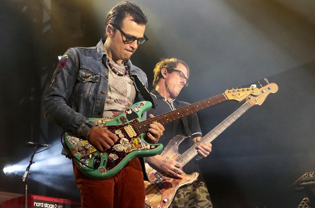 Weezer perform in 2016