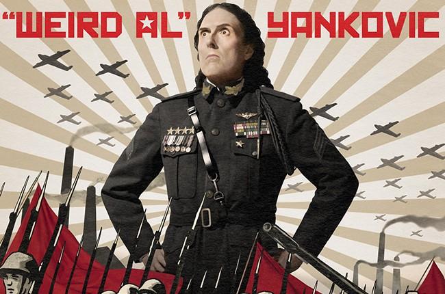 "Weird Al Yankovic's ""Mandatory Fun"" Album Cover"