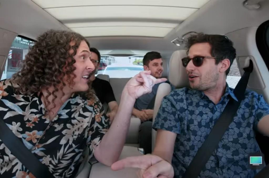 Weird Al & The Lonely Island on Carpool Karaoke