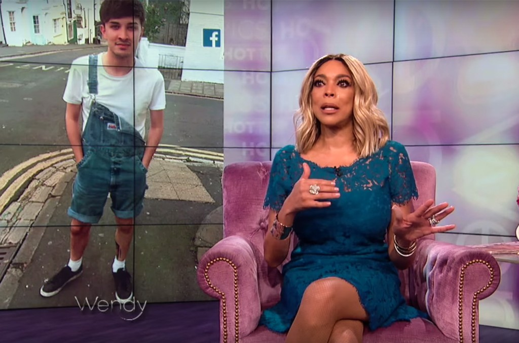 Wendy Williams pays tribute to Martyn Hett, a victim of the 2017 Manchester Arena bombing.