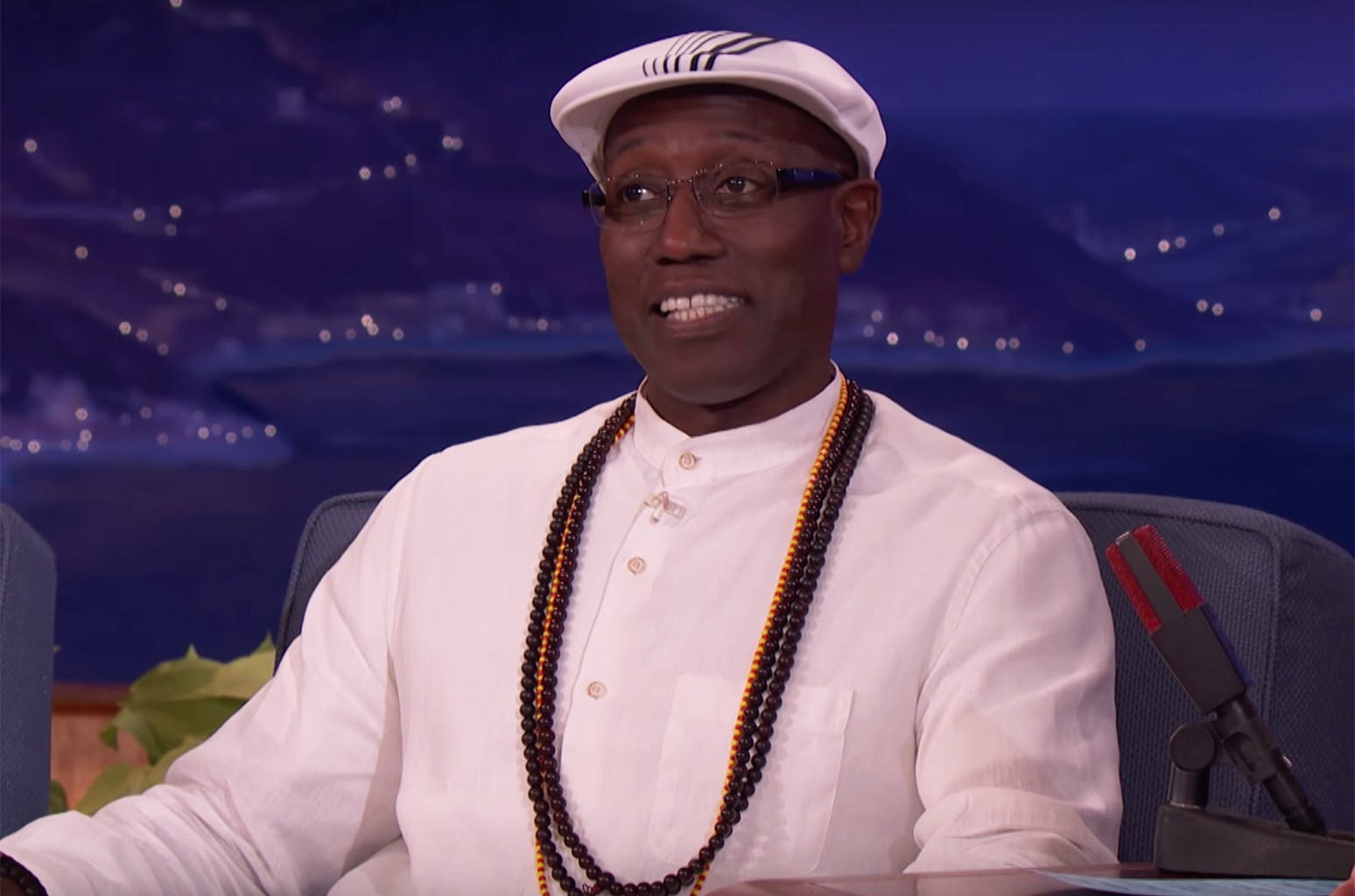 Wesley Snipes on Conan