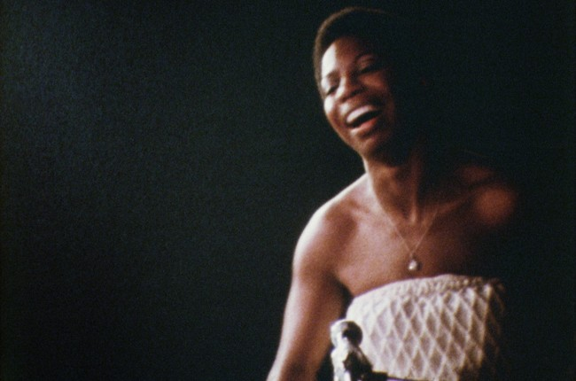 "A still from the 2015 film ""What Happened, Miss Simone?"""