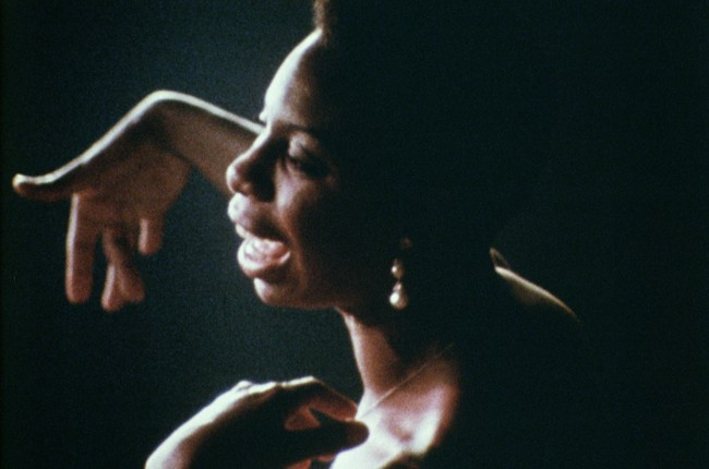 """A still from the 2015 film """"What Happened, Miss Simone?"""""""