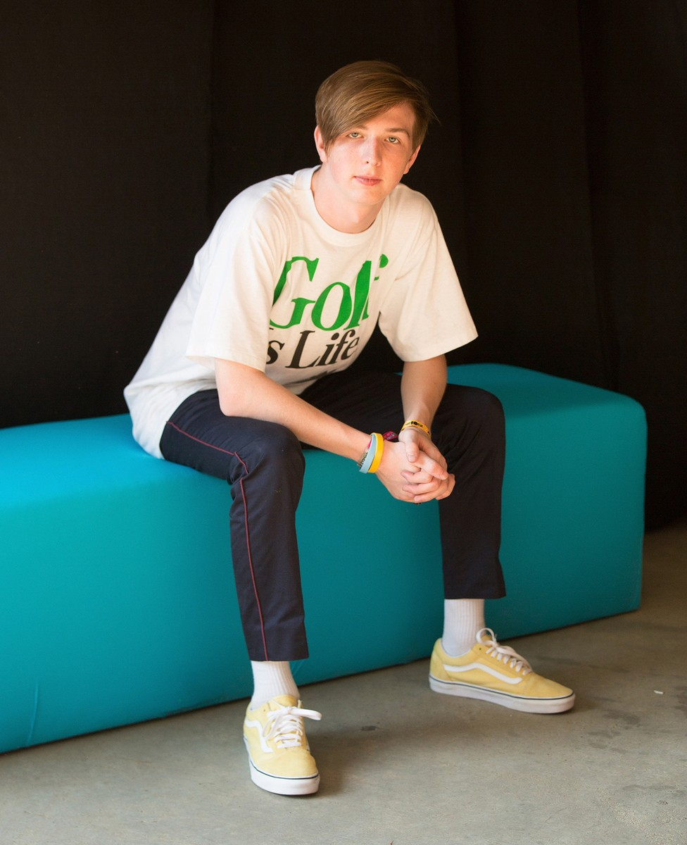 Whethan photographed backstage at Hard Summer Music Festival 2017
