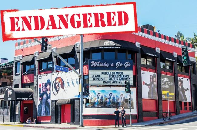 Whiskey a Go Go -- Sunset Strip Endangered -- BB34