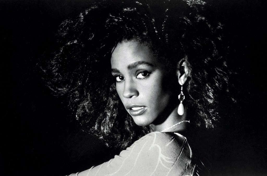Whitney Houston in 1980.