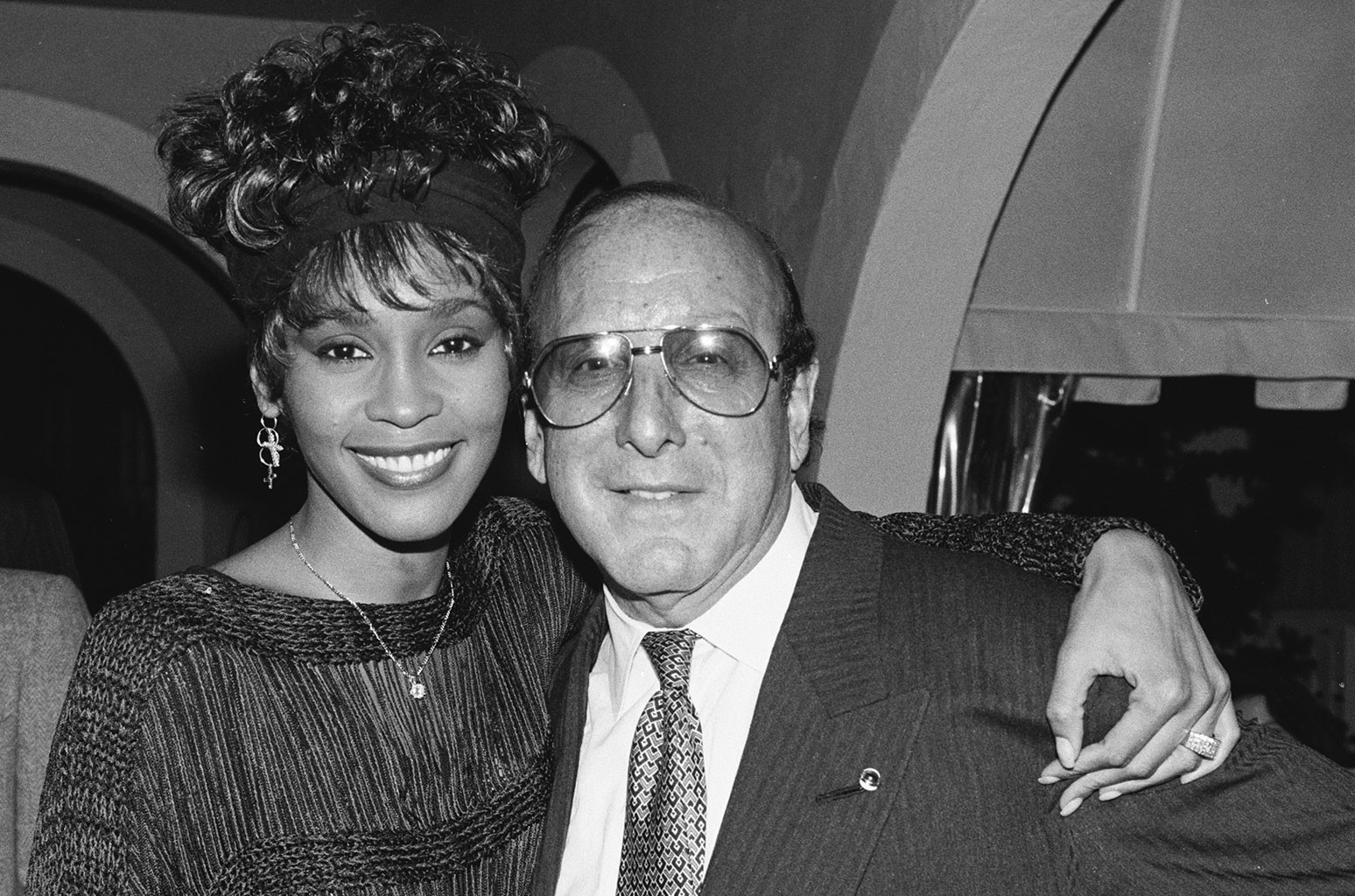 Whitney Houston Clive Davis