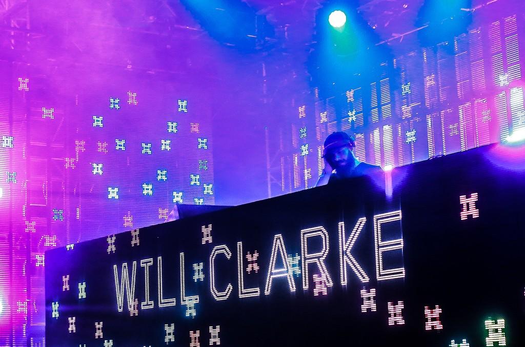 Will Clarke performs at Beyond Wonderland