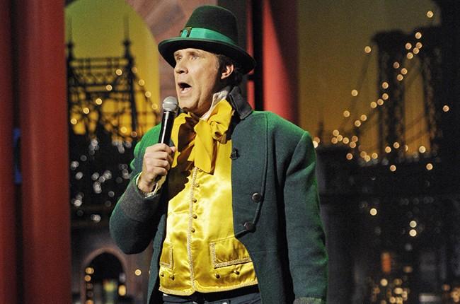"Will Ferrell sings ""Danny Boy"" on St Patrick's Day on Letterman"
