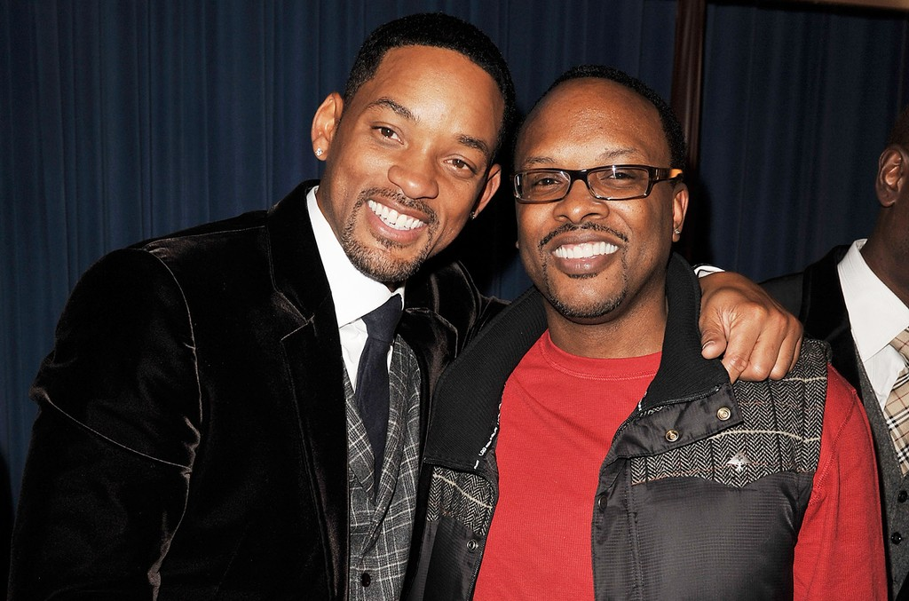 Will Smith and DJ Jazzy Jeff at the Armand Hammer Museum on Dec. 16, 2008 in Los Angeles.