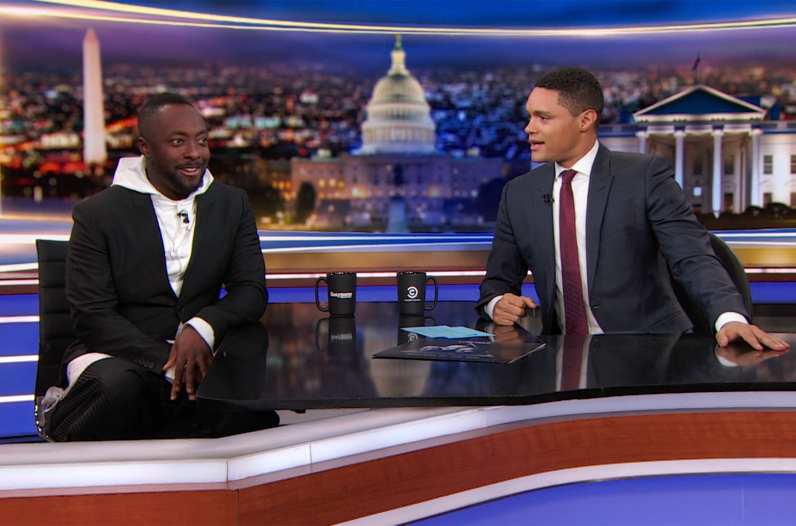 Will.i.am on The Daily Show.