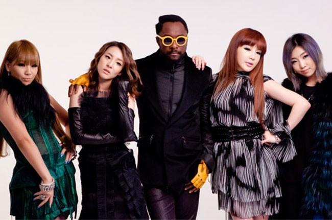 Will I Am And 2ne1 Gettin Dumb Listen To The K Pop Collaboration Billboard