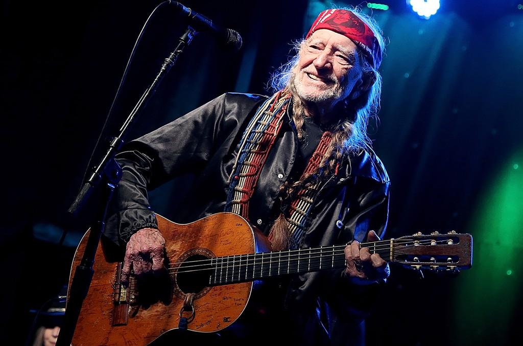 Willie Nelson performs during the Luck Reunion on March 16, 2017 in Spicewood, Texas.