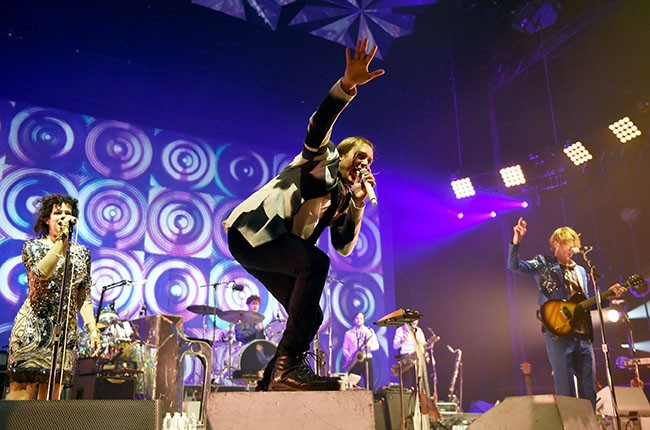 Win Butler of Arcade Fire performs during The Reflector Tour