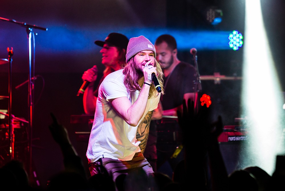 Dirty Heads perform at Billboard Winterfest at Park City Live! on Jan 27, 2016.