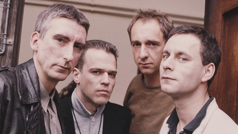 <p>Bruce Gilbert, Graham Lewis, Robert Grey&nbsp&#x3B;and Colin Newman of Wire.&nbsp&#x3B;</p>