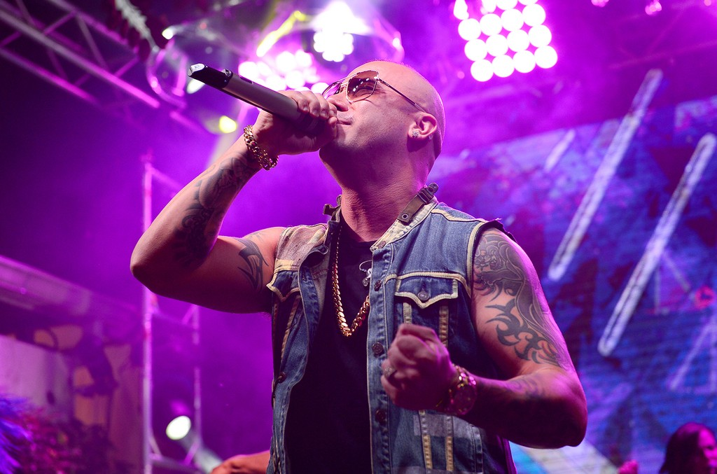 Wisin performs in 2015