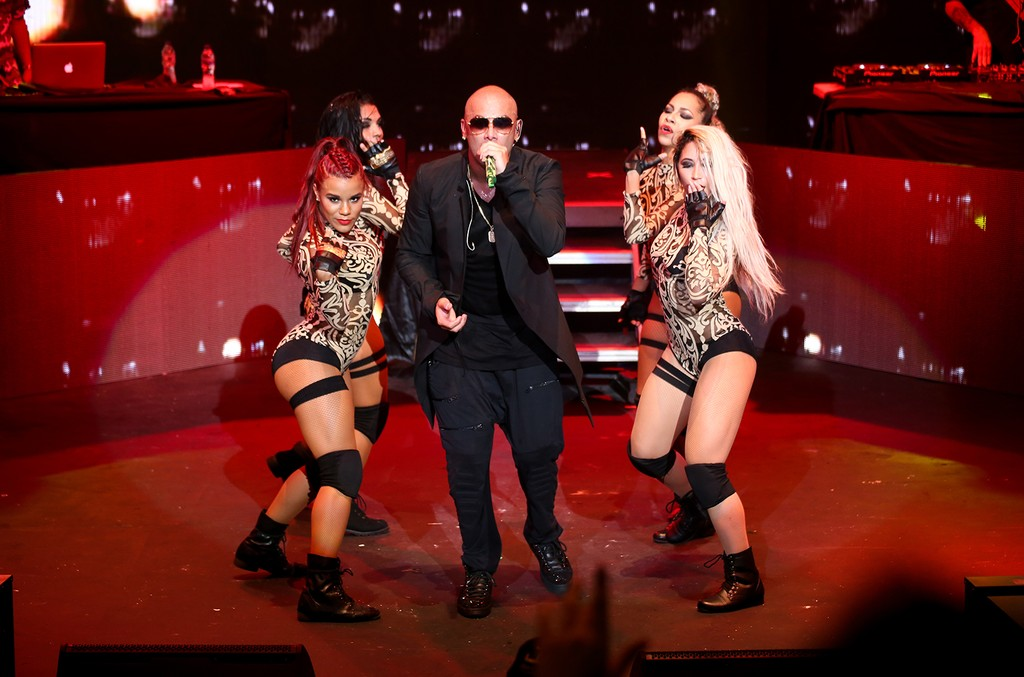 Wisin performs at Casa de Campo's Altos de Chavón amphitheater on June 17, 2017 in Dominican Republic.