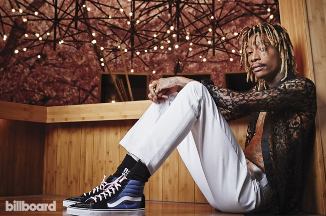 Wiz Khalifa photographed by Amanda Friedman on Aug. 6, 2015 at the Kumi Japanese Restaurant at Mandalay Bay in Las Vegas.