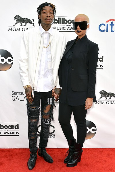 Wiz Khalifa and Amber Rose at the 2014 Billboard Music Awards