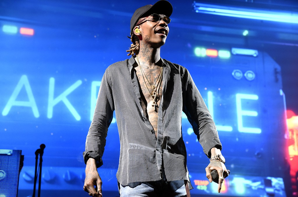 Wiz Khalifa performs at Concord Pavilion