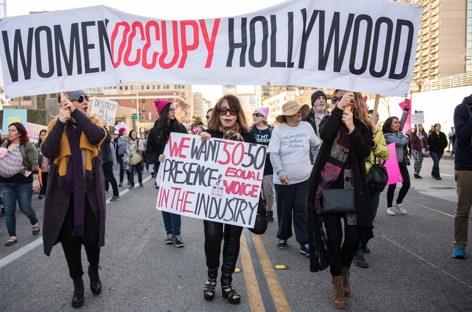 Women's March rally