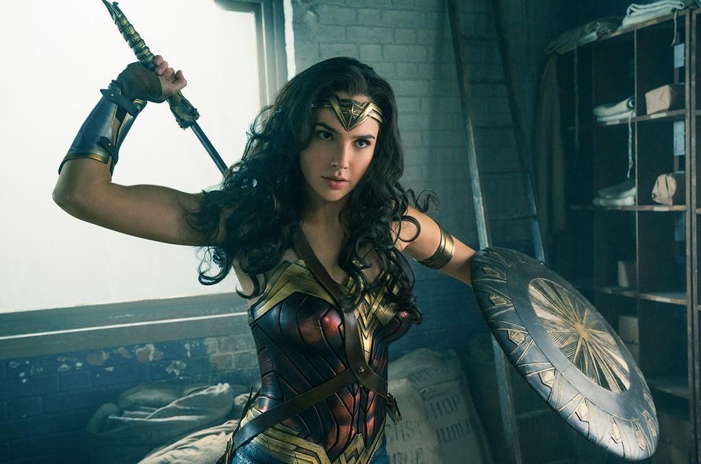 Diana Prince in Wonder Woman.