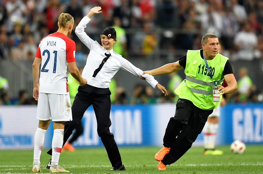 World Cup Pussy Riot
