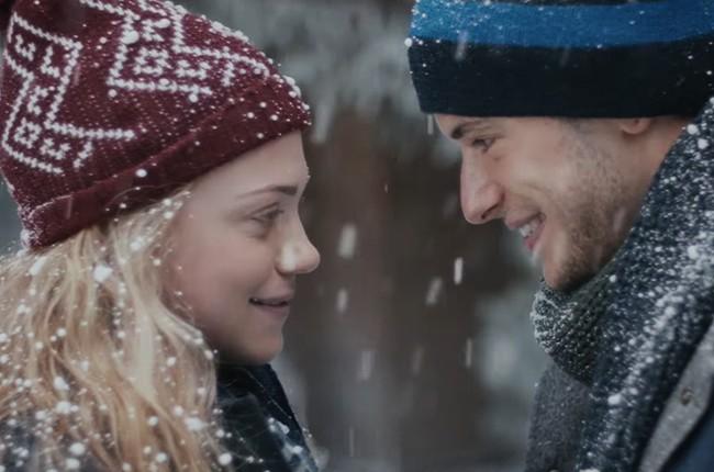 """Wrigley's """"Extra Gum: The Story of Sarah & Juan"""" commercial."""