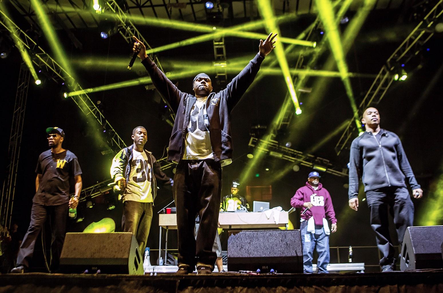 Wu-Tang Clan perform in 2014